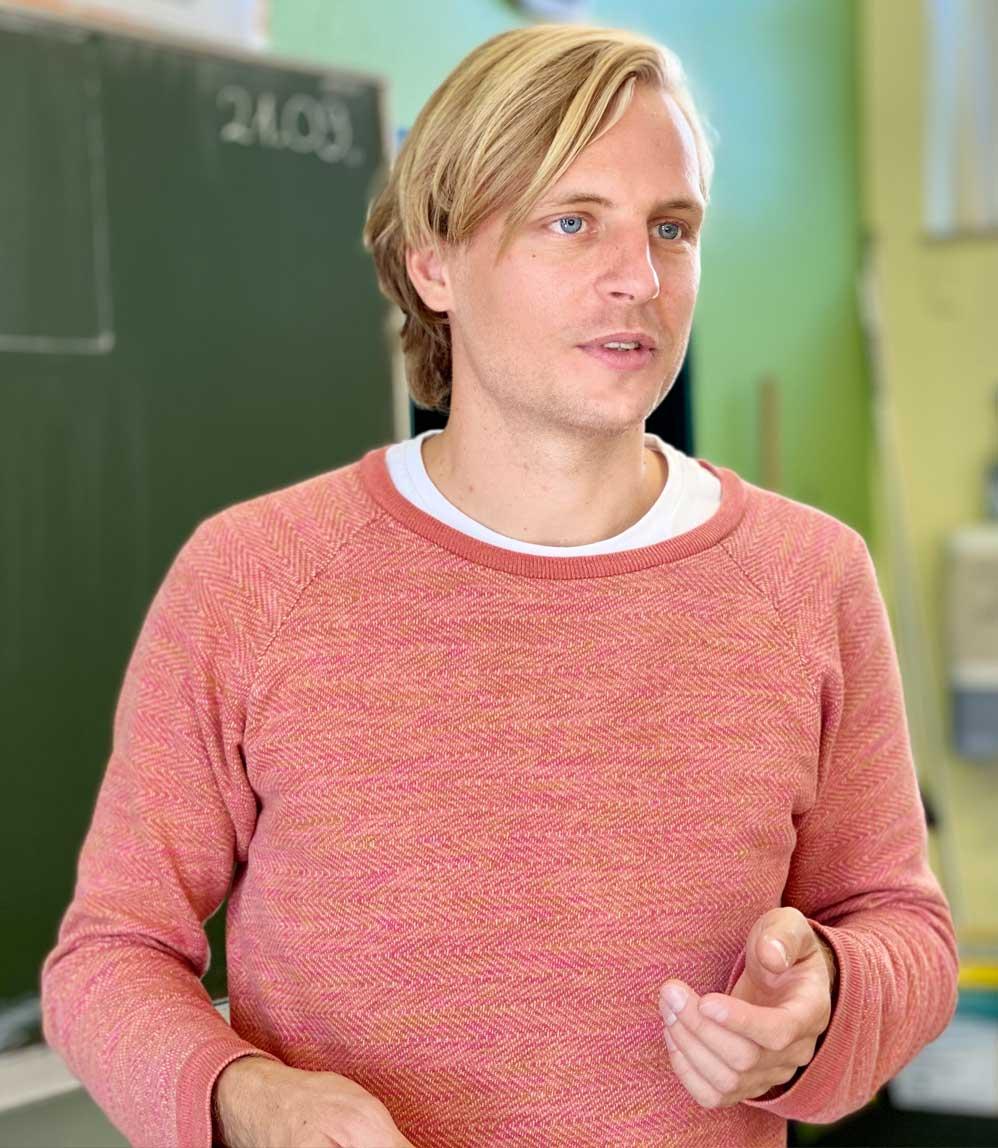 Nils Horstmann, Wilhelm-Focke-Oberschule