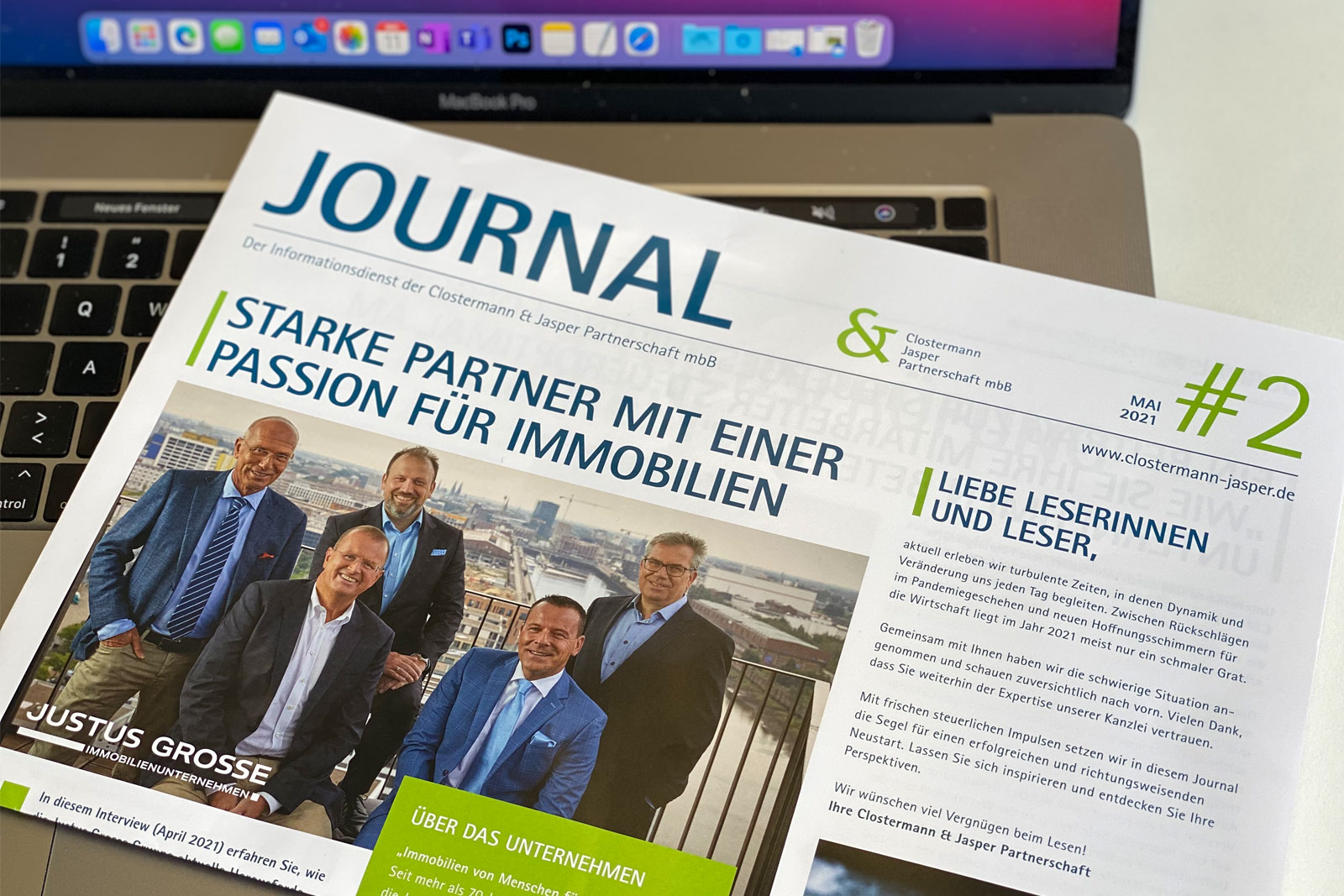 Kundenmagazin CJ&P von AI Digital Consulting