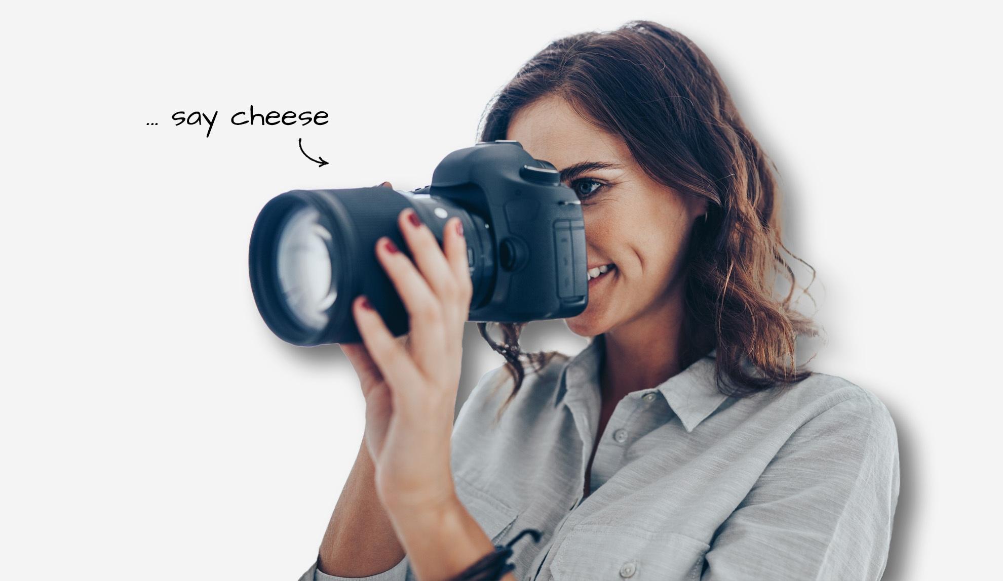 Businessfotografie - Header Fotografin